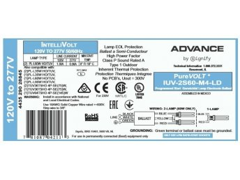 TUV Advance PureVOLT Driver